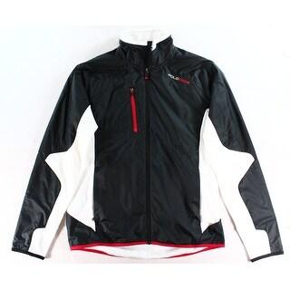 Polo Ralph Lauren NEW Black Mens Size Medium M Windbreaker Jacket