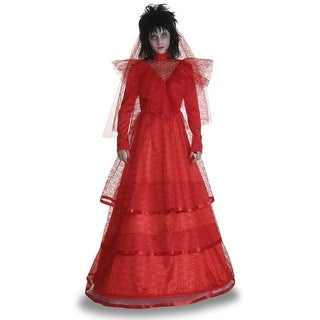 Plus Size Red Gothic Wedding Dress (Option: 3x)
