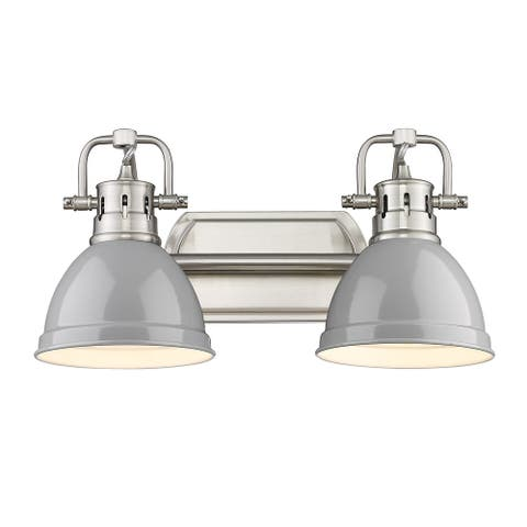 "Duncan 2 Light Bath Vanity - 16.5""x8.5"""