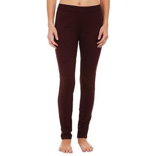Calvin Klein Jeans Pull On Ponte Pants Leggings - L
