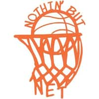 "Nothin' But Net - Cardstock Laser Die-Cuts 4""X6"""