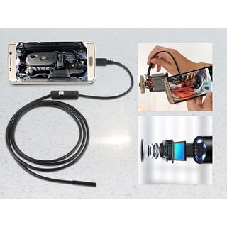 Endoscope 2 In 1 Digital Endoscope Borescope/Waterproof Camera 2.0 Megapixels, 6 LED Lights and Snake Wire - 22.9 ft (5 m)|https://ak1.ostkcdn.com/images/products/is/images/direct/05e0bb855adeb4119e8946a06f05d5727ca9d49b/Endoscope-2-In-1-Digital-Endoscope-Borescope-Waterproof-Camera-2.0-Megapixels%2C-6-LED-Lights-and-Snake-Wire---22.9-ft-%285-m%29.jpg?impolicy=medium