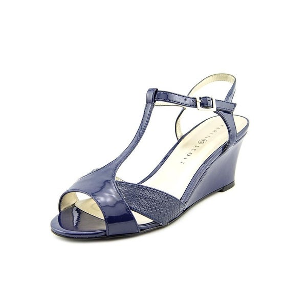Karen Scott Sabinaa Open Toe Synthetic Wedge Sandal