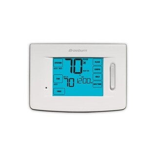 Braeburn 5320 Touchscreen 5/2 Programmable Thermostat with 4 Stage Heating / 2 Stage Cooling