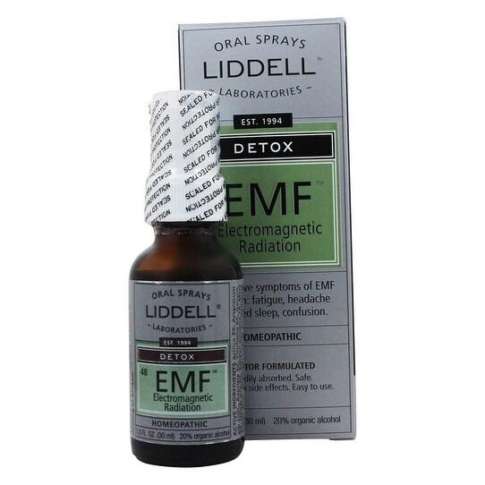 Liddell Homeopathic - Detox Emf (Electromagnetic Fields) 1 oz