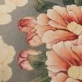 "Luxury Gray Purple Bird Round Printing Pillow 18""X18"" - Thumbnail 2"