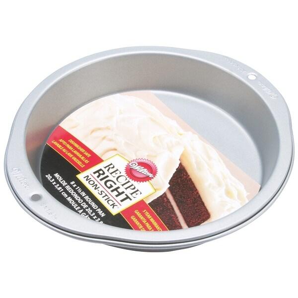 "Recipe Right Cake Pan-Round 8"""