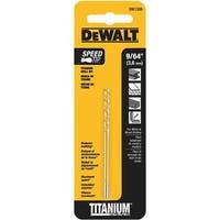 """Black & Decker/DWLT 9/64"""" Titanium Drill Bit DW1309 Unit: CARD"""