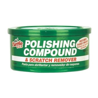 Turtle Wax T241A Polishing Compound & Scratch Remover, 10 Oz