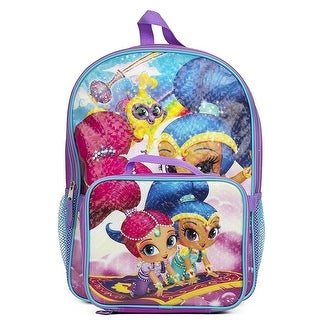 Nickelodeon Girls Shimmer and Shine Backpack Lunch Bag Box