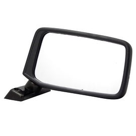 Pilot Automotive DT9109410 Nissan Pickup Black Manual Replacement Side Mirror