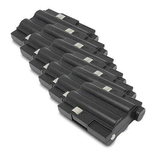Replacement 700mAh Battery For Midland GXT325VP / GXT700 2-Way Radios Models (6 Pack)
