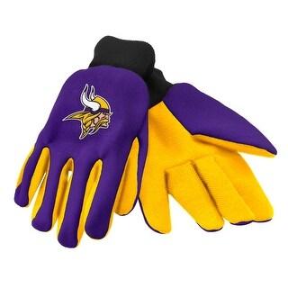 Minnesota Vikings Work/Utility Gloves, One Size, Team Color
