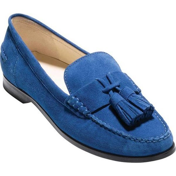 1e8f5f36d50 Shop Cole Haan Women s Emmons Tassel Loafer Limoges Suede - Free ...