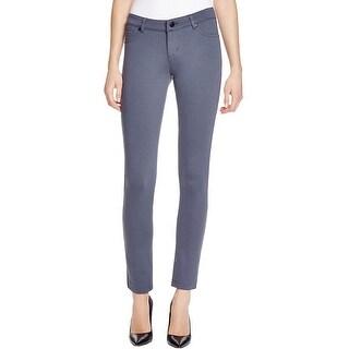 JW Jash World Womens Skinny Pants Ponte Flat Front