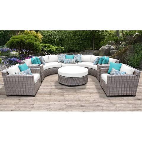 Florence 8-piece Outdoor Wicker Patio Furniture Set