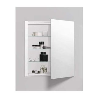 "Robern RC2426D4FP1 R3 24"" x 26"" x 4"" Plain Single Door Medicine Cabinet with Rev"