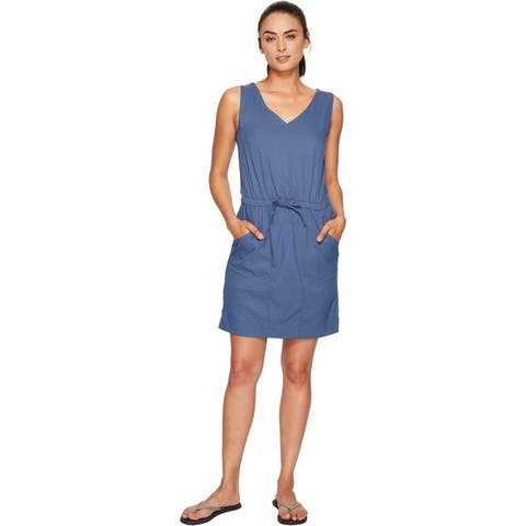The North Face Women's New Aphrodite 2.0 Dress (Shady Blue Heather, X-Small) - X-Small
