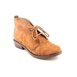 Dirty Laundry Pitch Women Round Toe Synthetic Tan Chukka Boot
