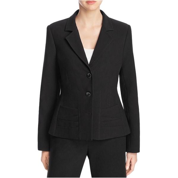 Finity Womens Notch Lapel Two Button Blazer Jacket. Opens flyout.