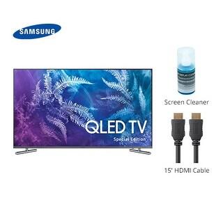 """Samsung 49-Inch Class Q6F Special Edition QLED 4K TV with Cable & Cleaner Class Q6F Special Edition QLED 4K TV"""