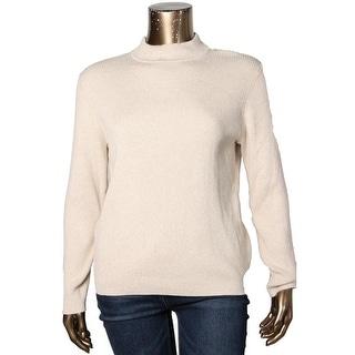 Karen Scott Womens Plus Casual Top Turtleneck Long Sleeves - 2x