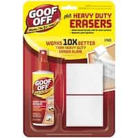 Goof Off FG705E Plus Heavy Duty Erasers, 4 Oz