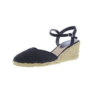 Lauren Ralph Lauren Womens Capricia Wedge Sandals Espadrille Ankle Strap
