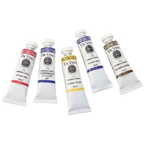 Da Vinci Paints - Professional Watercolor - 15ml Tube - Lamp Black