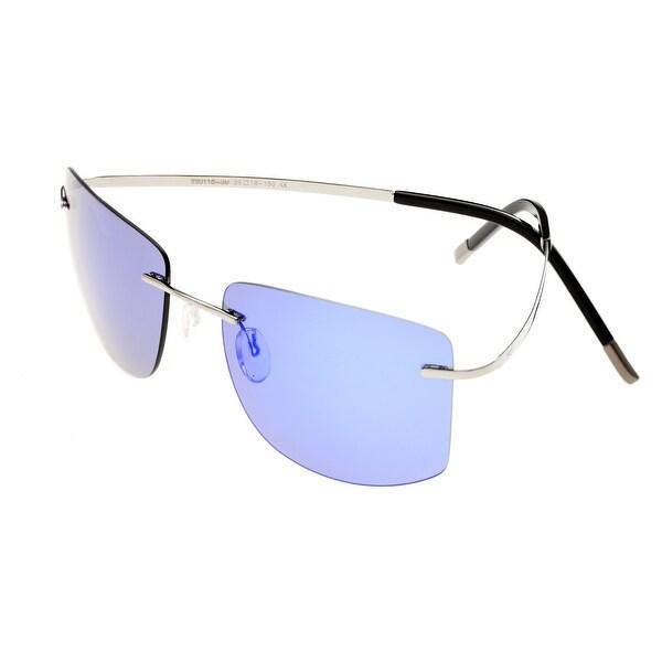 8fdd8c02e8a Simplify Benoit Unisex Titanium Sunglasses - 100% UVA UVB Prorection -  Polarized Lens -