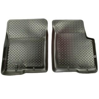Husky Classic 2005-2012 Nissan Pathfinder/Xterra Black Front Floor Mats/Liners