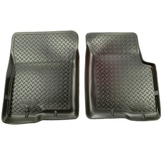 Husky Classic 2006-2010 Dodge Charger Black Front Floor Mats/Liners