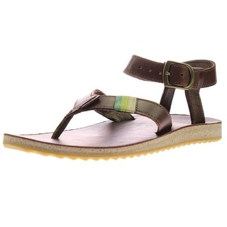 Teva Womens Thong Sandals Leather Strappy