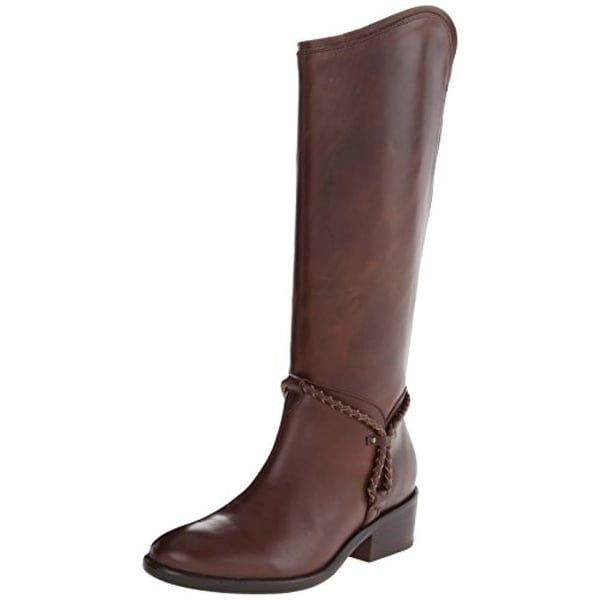 Ariat Womens Calgary Riding Boots Leather Knee-High