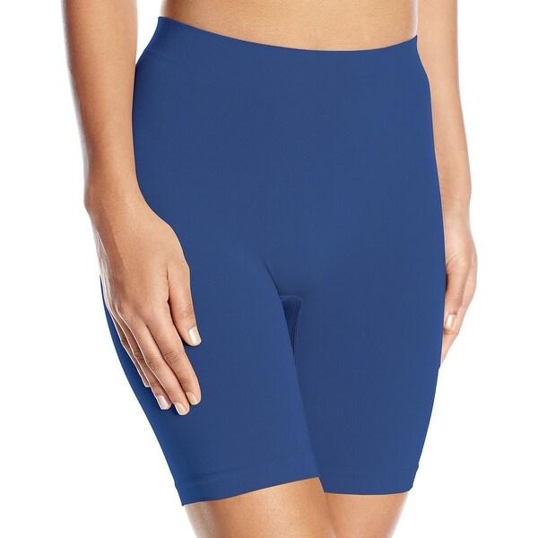 Vassarette Blue Women's Size 6 M Smooth Slip Pull On Boyshorts