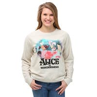 Womens Alice In Wonderland Classic Tea Party Sweatshirt