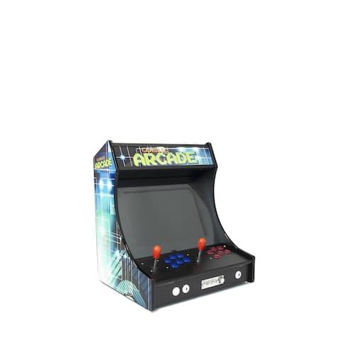"2 Player Mini Tabletop Arcade Bar Top 3000 Classic Games 22"" LCD Screen"