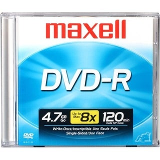 Maxell 638000 Dvd-R 4.7Gb Write-Once 16X Recordable Disc