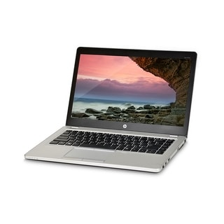 HP Elitebook Folio 9470m Core i5-3437U 1.9GHz 3rd Gen CPU 4GB RAM 320GB HDD Windows 10 Home 14-inch Laptop (Refurbished)
