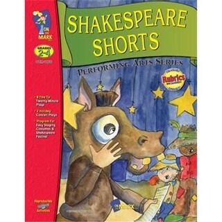 On The Mark Press OTM1866 Shakespeare Shorts 2-4 Perf. Arts