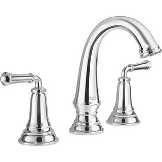 American Standard 7052.814  Delancey 1.2 GPM Widespread Bathroom Faucet with Red and Blue Temperature Indicators