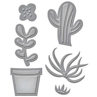 Spellbinders Shapeabilities Die D-Lites-Succulent Garden