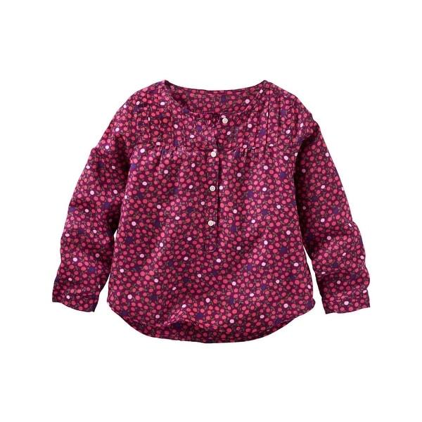 3bd03dc3b419 Shop OshKosh B gosh Little Girls  Floral Top