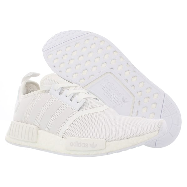 Shop Adidas Nmd R1 Triple White 2017 Running Men S Shoes Size