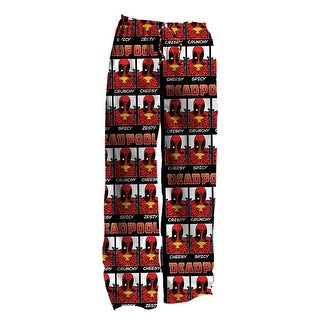 Marvel Deadpool Deadfood-2 Adult Sleep Pants