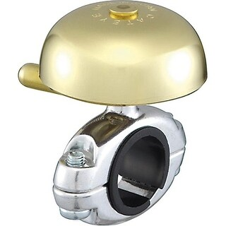 CatEye Yamabiko Brass Bicycle Bell - OH2200 Gold
