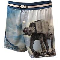 Star Wars Where Am I AT-AT Men's Boxer Shorts