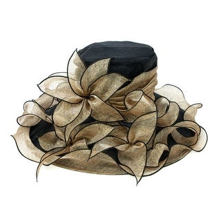 ChicHeadwear Womens Organza Fashion Hat - One size