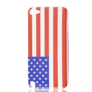 American USA Flag Design IMD Hard Back Case Cover for iPod Touch 5 5G 5th