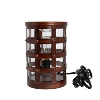 Home Fragrance Colosseum Edison Full Size Wax Warmer with 40 Watt Light Bulb